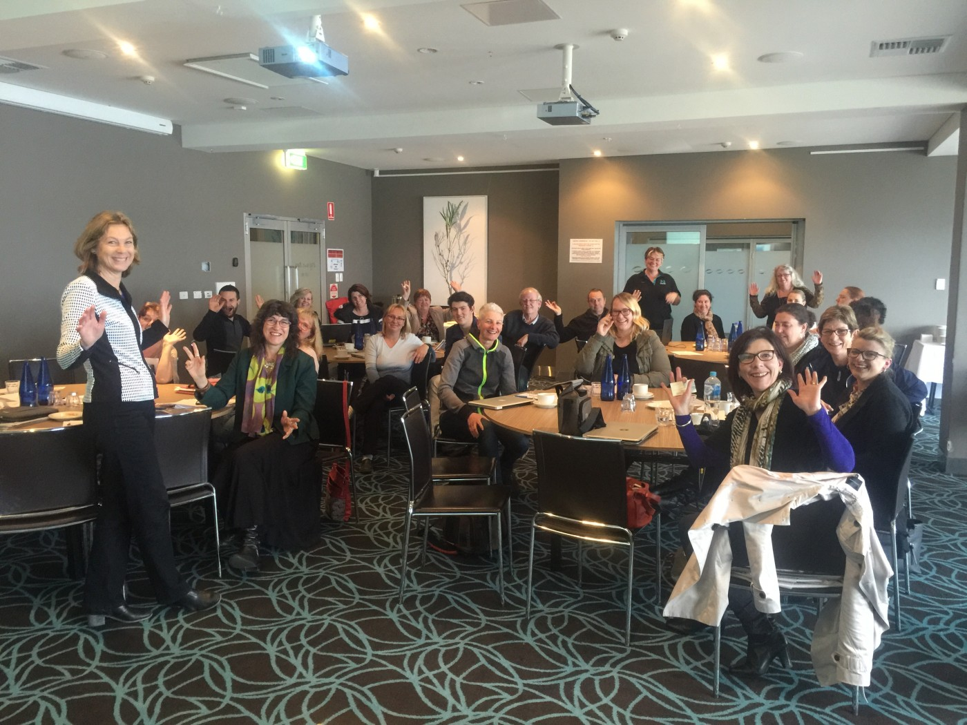 Kangaroo Island Tourism Tribe members - Digital Workshop September 2016