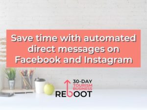 automated direct messages, facebook automated messages, instagram direct messages