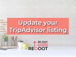 learn how to update your tripadvisor listing