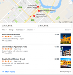 Google Places - Mildura