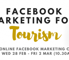 Online Training Session: Facebook Marketing for Tourism