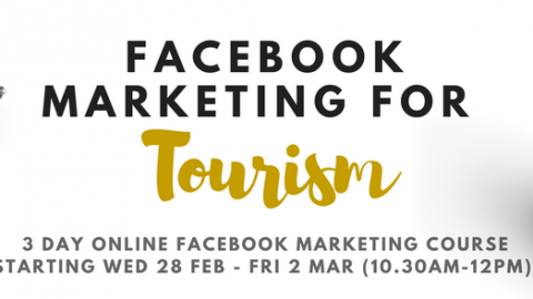 Online Training Session: Facebook Marketing for Tourism