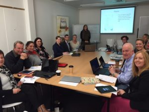 Tourism Northern Tasmania Tribe learning together in facilitated workshop