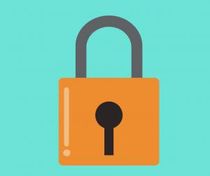 Graphic of padlock