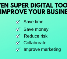 Seven super digital tools to save you time and money in your business