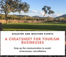 What to do when a disaster or weather crisis caused negative perception of your tourism destination?