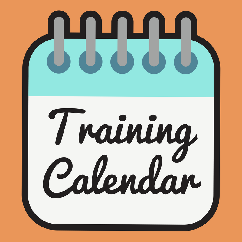 Training calendar for tourism businesses