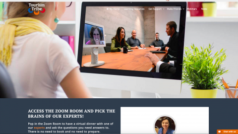 Zoom Room – weekly live video meeting with an Expert